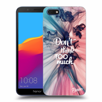 Etui na Honor 7S - Don't think TOO much
