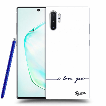 Etui na Samsung Galaxy Note10+ N975F - I love you
