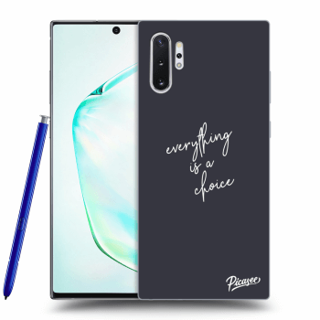Etui na Samsung Galaxy Note10+ N975F - Everything is a choice