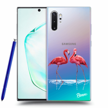 Etui na Samsung Galaxy Note10+ N975F - Flamingos couple