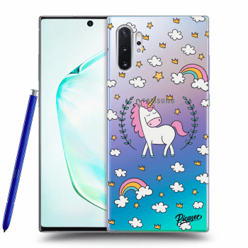 Etui na Samsung Galaxy Note10+ N975F - Unicorn star heaven
