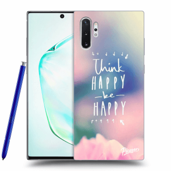 Etui na Samsung Galaxy Note10+ N975F - Think happy be happy