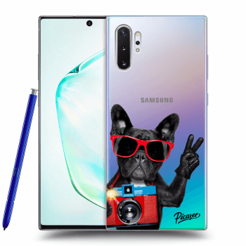 Etui na Samsung Galaxy Note10+ N975F - French Bulldog