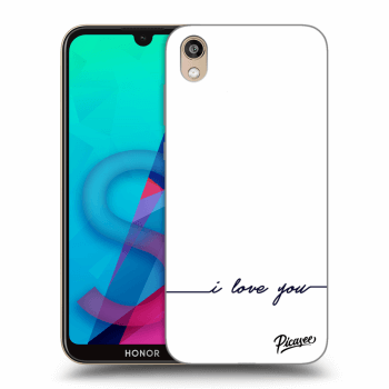 Etui na Honor 8S - I love you