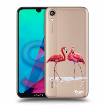 Etui na Honor 8S - Flamingos couple