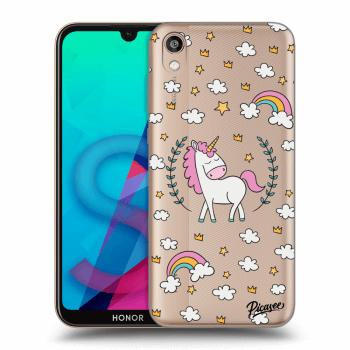 Etui na Honor 8S - Unicorn star heaven