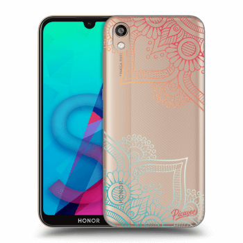 Etui na Honor 8S - Flowers pattern