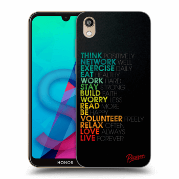 Etui na Honor 8S - Motto life