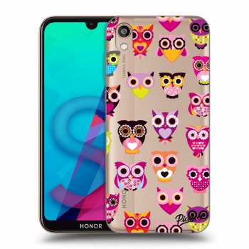 Etui na Honor 8S - Owls