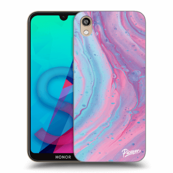 Etui na Honor 8S - Pink liquid