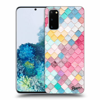 Etui na Samsung Galaxy S20 G980F - Colorful roof
