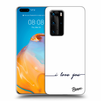 Etui na Huawei P40 Pro - I love you