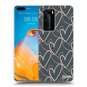Etui na Huawei P40 Pro - Lots of love