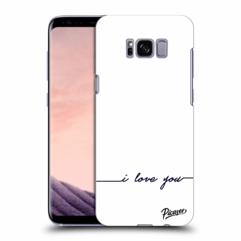 Etui na Samsung Galaxy S8 G950F - I love you