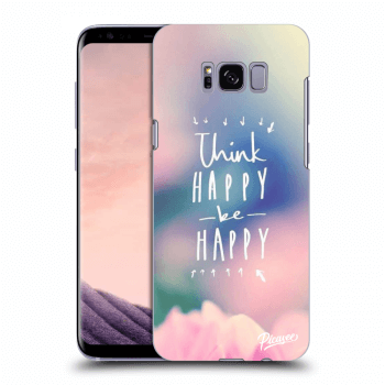 Etui na Samsung Galaxy S8 G950F - Think happy be happy