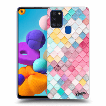 Etui na Samsung Galaxy A21s - Colorful roof