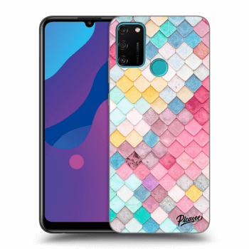 Etui na Honor 9A - Colorful roof