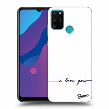 Etui na Honor 9A - I love you