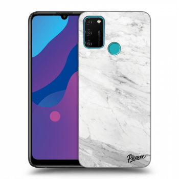 Etui na Honor 9A - White marble