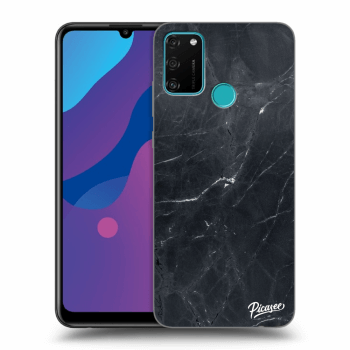Etui na Honor 9A - Black marble