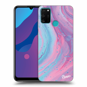 Etui na Honor 9A - Pink liquid