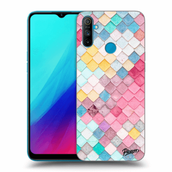 Etui na Realme C3 - Colorful roof