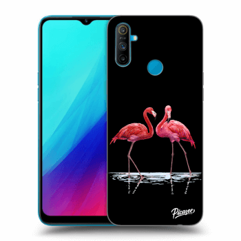 Etui na Realme C3 - Flamingos couple