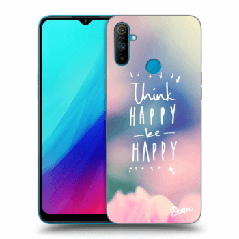 Etui na Realme C3 - Think happy be happy