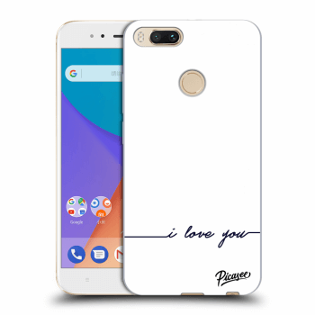 Etui na Xiaomi Mi A1 Global - I love you