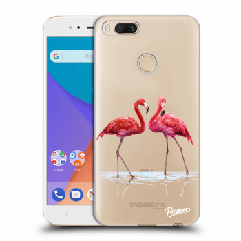 Etui na Xiaomi Mi A1 Global - Flamingos couple