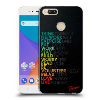 Etui na Xiaomi Mi A1 Global - Motto life