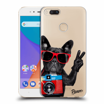 Etui na Xiaomi Mi A1 Global - French Bulldog