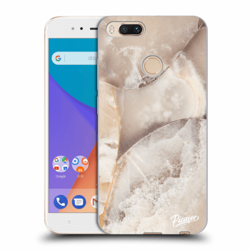 Etui na Xiaomi Mi A1 Global - Cream marble
