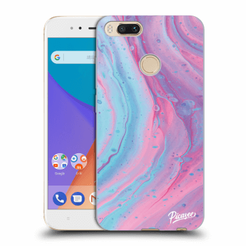 Etui na Xiaomi Mi A1 Global - Pink liquid