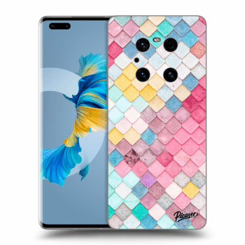 Etui na Huawei Mate 40 Pro - Colorful roof