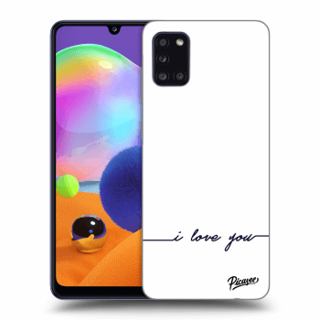 Etui na Samsung Galaxy A31 A315F - I love you