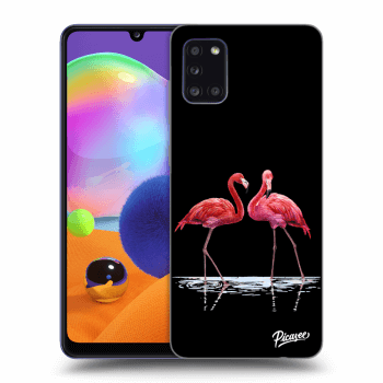 Etui na Samsung Galaxy A31 A315F - Flamingos couple