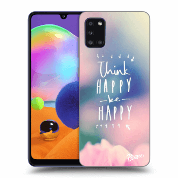 Etui na Samsung Galaxy A31 A315F - Think happy be happy
