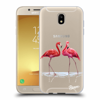 Etui na Samsung Galaxy J5 2017 J530F - Flamingos couple