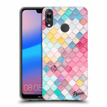 Etui na Huawei P20 Lite - Colorful roof