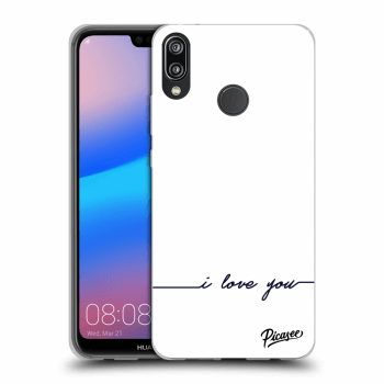 Etui na Huawei P20 Lite - I love you
