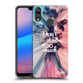 Etui na Huawei P20 Lite - Don't think TOO much