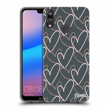 Etui na Huawei P20 Lite - Lots of love