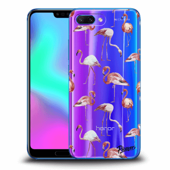 Etui na Honor 10 - Flamingos