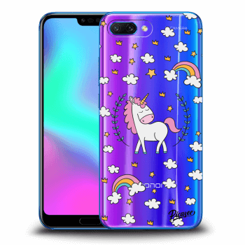 Etui na Honor 10 - Unicorn star heaven