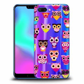 Etui na Honor 10 - Owls