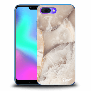 Etui na Honor 10 - Cream marble