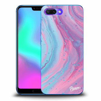 Etui na Honor 10 - Pink liquid