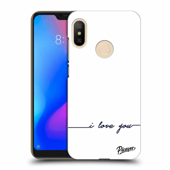 Etui na Xiaomi Mi A2 Lite - I love you