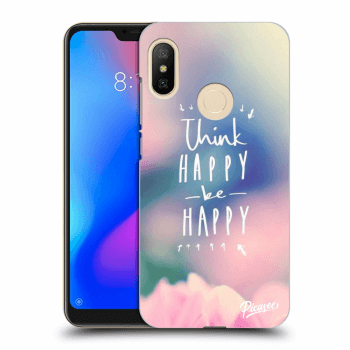 Etui na Xiaomi Mi A2 Lite - Think happy be happy